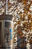 σημείο πληροφοριών Στοκ φωτογραφία με δικαίωμα ελεύθερης χρήσης