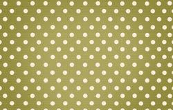 Σημείο Πόλκα με το πράσινο υπόβαθρο χρώματος κρητιδογραφιών Στοκ εικόνα με δικαίωμα ελεύθερης χρήσης
