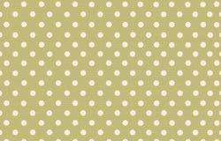 Σημείο Πόλκα με το πράσινο υπόβαθρο χρώματος κρητιδογραφιών Στοκ φωτογραφίες με δικαίωμα ελεύθερης χρήσης