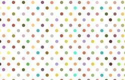 Σημείο Πόλκα με το υπόβαθρο κρητιδογραφιών χρώματος ποικιλίας Στοκ φωτογραφία με δικαίωμα ελεύθερης χρήσης