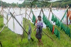 Σημείο πλύσης Dhobi Στοκ Εικόνες