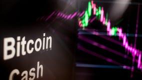 Σημείο Cryptocurrency μετρητών Bitcoin Η συμπεριφορά των ανταλλαγών cryptocurrency, έννοια Σύγχρονες οικονομικές τεχνολογίες διανυσματική απεικόνιση