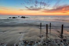 Σημείο Fermin Beach Στοκ φωτογραφίες με δικαίωμα ελεύθερης χρήσης
