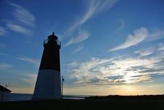 Σημείο Judith Lighthouse, RI Στοκ εικόνες με δικαίωμα ελεύθερης χρήσης