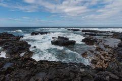 Σημείο Kaena, Oahu στοκ φωτογραφίες