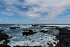Σημείο Kaena, Oahu στοκ εικόνες