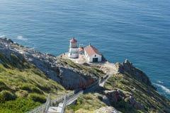 Σημείο Reyes Lighthouse σε Καλιφόρνια Στοκ Φωτογραφίες