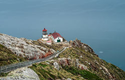 Σημείο Reyes Lighthouse σε Καλιφόρνια Στοκ φωτογραφία με δικαίωμα ελεύθερης χρήσης