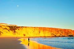 Σημείο Surfers, Πορτογαλία Στοκ φωτογραφία με δικαίωμα ελεύθερης χρήσης