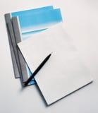 σημείωση βιβλίων Στοκ φωτογραφίες με δικαίωμα ελεύθερης χρήσης