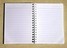 σημείωση βιβλίων Στοκ φωτογραφία με δικαίωμα ελεύθερης χρήσης