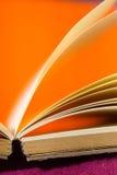σημείωση βιβλίων ανοικτή Στοκ εικόνα με δικαίωμα ελεύθερης χρήσης