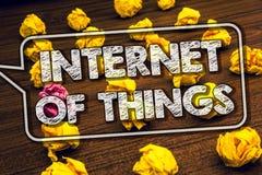 Σημείωση γραψίματος που παρουσιάζει Διαδίκτυο των πραγμάτων Ψηφιακή συνδετικότητα Timb ηλεκτρονικής παγκοσμιοποίησης καινοτομίας  στοκ φωτογραφία με δικαίωμα ελεύθερης χρήσης
