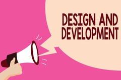 Σημείωση γραψίματος που παρουσιάζει το σχέδιο και ανάπτυξη Επιχειρησιακή φωτογραφία που επιδεικνύει καθορίζοντας την προδιαγραφή  απεικόνιση αποθεμάτων