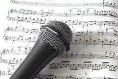 σημείωση μουσικής Στοκ φωτογραφίες με δικαίωμα ελεύθερης χρήσης