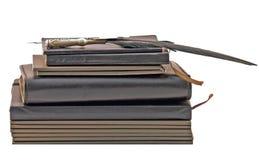 σημειωματάρια βιβλίων Στοκ εικόνες με δικαίωμα ελεύθερης χρήσης