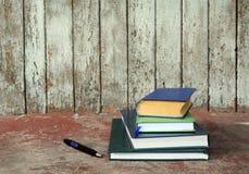 σημειωματάρια βιβλίων Στοκ Εικόνα