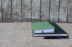 σημειωματάρια βιβλίων Στοκ φωτογραφίες με δικαίωμα ελεύθερης χρήσης