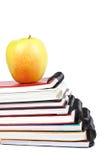 σημειωματάρια μήλων μερικά Στοκ Εικόνα