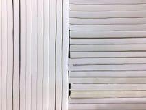 Σημειωματάρια που τακτοποιούνται κάθετα και οριζόντια Στοκ Εικόνες