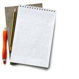 σημειωματάριο ανοικτό Στοκ εικόνες με δικαίωμα ελεύθερης χρήσης