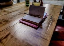 σημειωματάριο ανοικτό Στοκ εικόνα με δικαίωμα ελεύθερης χρήσης