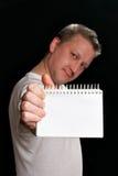 σημειωματάριο ατόμων εκμ&epsi στοκ εικόνες με δικαίωμα ελεύθερης χρήσης