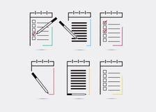 Σημειωματάριο, εικονίδιο σημειωματάριων Στοκ εικόνα με δικαίωμα ελεύθερης χρήσης