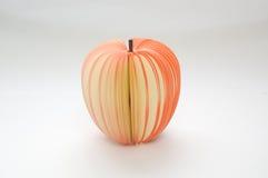 σημειωματάριο μήλων Στοκ φωτογραφία με δικαίωμα ελεύθερης χρήσης