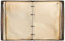 σημειωματάριο παλαιό Στοκ φωτογραφία με δικαίωμα ελεύθερης χρήσης