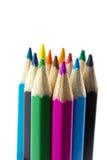 Σημειωματάριο που απομονώνεται κενό με το μολύβι χρώματος Στοκ φωτογραφία με δικαίωμα ελεύθερης χρήσης