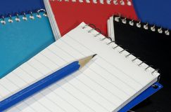 σημειωματάριο στοκ εικόνα με δικαίωμα ελεύθερης χρήσης