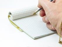 Σημειωματάριο στοκ φωτογραφία με δικαίωμα ελεύθερης χρήσης