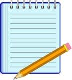 σημειωματάριο απεικόνιση αποθεμάτων