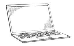 Σημειωματάριο doodle - γραπτή απεικόνιση ύφους σκίτσων Στοκ Φωτογραφίες