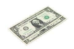 Σημειώσεις ένα αμερικανικό δολάριο Στοκ φωτογραφία με δικαίωμα ελεύθερης χρήσης