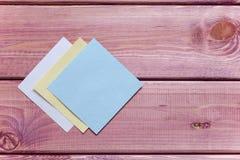 Σημειώσεις, αυτοκόλλητη ετικέττα Στοκ εικόνα με δικαίωμα ελεύθερης χρήσης