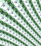 Σημειώσεις εκατό ευρώ Στοκ εικόνα με δικαίωμα ελεύθερης χρήσης