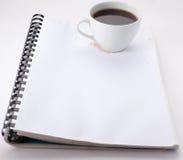 σημειώσεις καφέ Στοκ Φωτογραφία