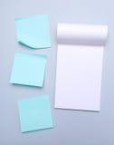 σημειώσεις κολλώδεις Στοκ εικόνες με δικαίωμα ελεύθερης χρήσης