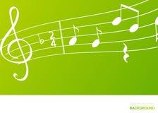 Σημειώσεις μουσικής, έννοια στοιχείων σχεδίου απεικόνιση αποθεμάτων