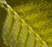 σημειώσεις μουσικής ανασκόπησης ελεύθερη απεικόνιση δικαιώματος
