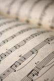 σημειώσεις μουσικής Στοκ φωτογραφία με δικαίωμα ελεύθερης χρήσης