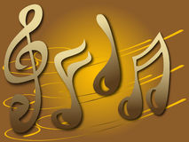σημειώσεις μουσικής ελεύθερη απεικόνιση δικαιώματος