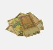 Σημειώσεις ρουπίων νομίσματος Lankan Sri Στοκ Φωτογραφίες