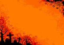 σημειώσεις σεληνόφωτου αποκριών ροπάλων ανασκόπησης Στοκ φωτογραφία με δικαίωμα ελεύθερης χρήσης