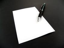 σημειώστε το έγγραφο Στοκ εικόνες με δικαίωμα ελεύθερης χρήσης