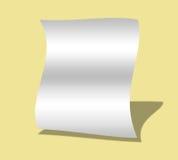 σημειώστε το λευκό Στοκ Εικόνες