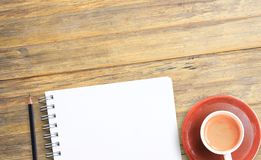 Σημειώστε το προϊόν για το βιβλίο με την έννοια εγγράφου, το αντικείμενο ή το διάστημα αντιγράφων στοκ εικόνα με δικαίωμα ελεύθερης χρήσης