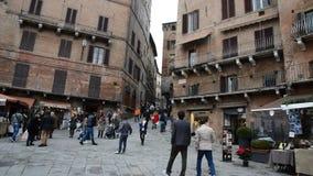 Σιένα, Ιταλία απόθεμα βίντεο